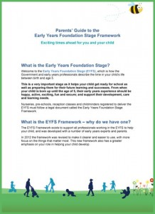 Parent's Guide to the EYFS-1